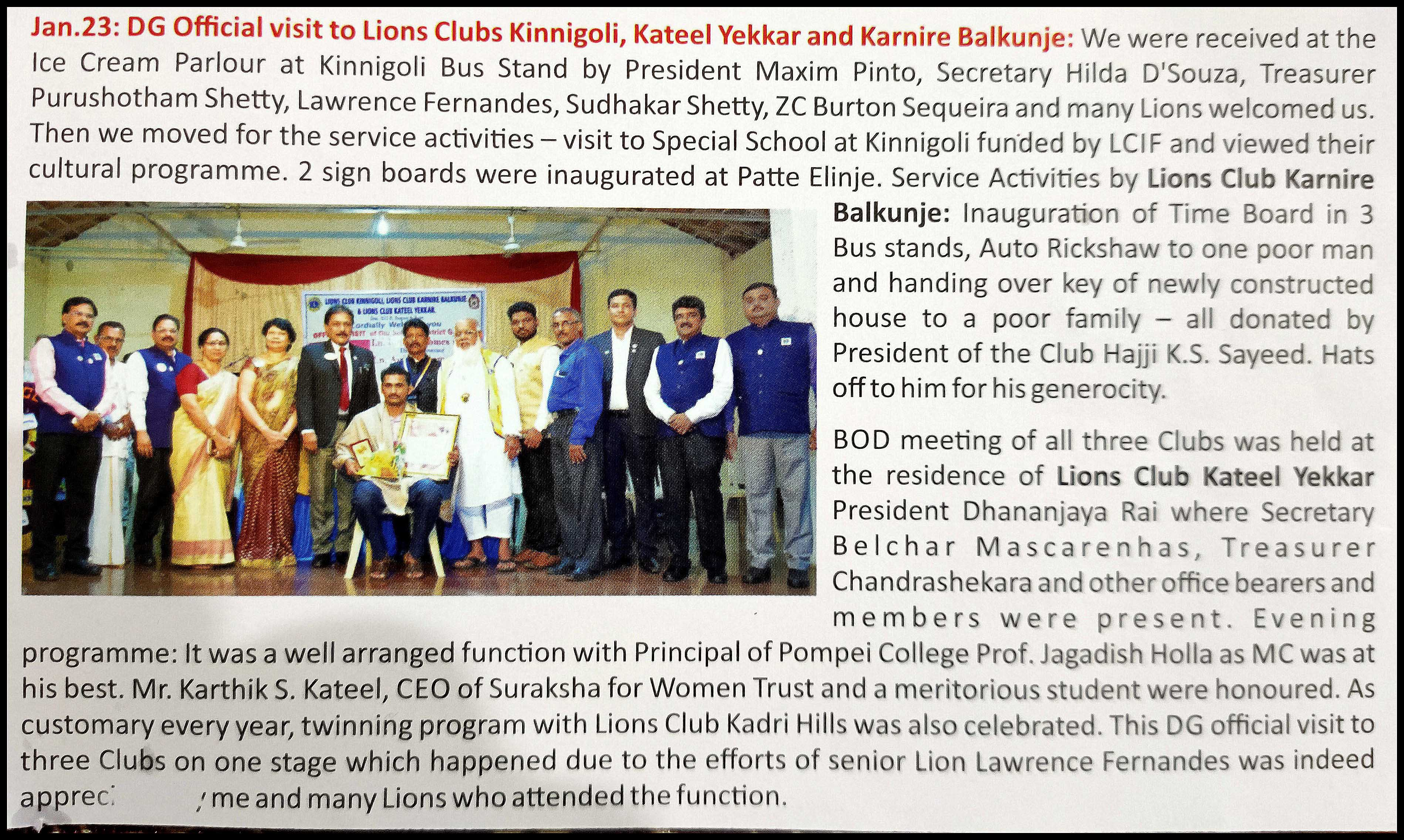 lions magazine 2020
